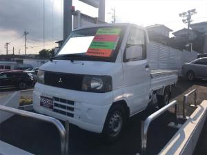 三菱 ミニキャブトラック VX-SE 4WD MT 修復歴無 記録簿 軽トラック