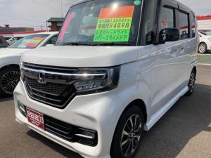 ホンダ N-BOXカスタム G・Lホンダセンシング ドライブレコーダー LEDヘッドランプ ESC ベンチシート