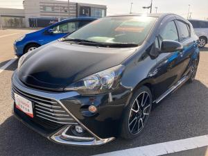 トヨタ アクア G G's バックモニタ LEDヘッド ABS オートクルーズ オートライト