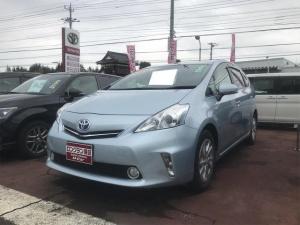 トヨタ プリウスアルファ S バックガイドモニター スマ-トキ- TVナビ