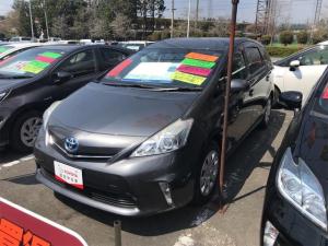 トヨタ プリウスアルファ S Lセレクション インテリキー 運転席エアバッグ