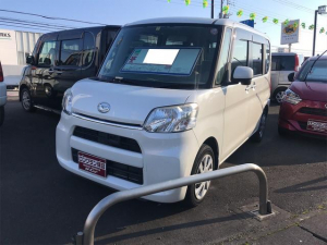 ダイハツ タント X SA スローパー スマ-トキ- ETC車載器 衝突軽減 エコアイドル