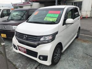 ホンダ N-WGNカスタム ナビ 軽自動車 プレミアムホワイトパール CVT