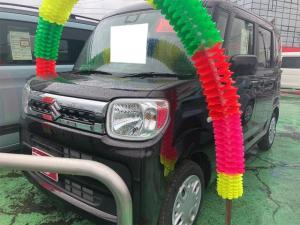 スズキ スペーシア ハイブリッドX LEDヘッドランプ シートヒーター レーンアシスト スマートキー