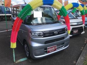 ダイハツ タント X サポカーS 駐車アシスト パノラマカメラ シートヒーター付き アイドリングS