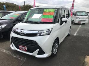 トヨタ タンク X S 衝突軽減装置 バックモニター スマートキ-