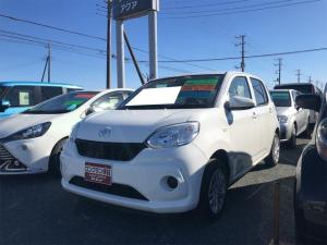 トヨタ パッソ X LパッケージS 盗難防止装置 アイスト スマキー バックモニタ