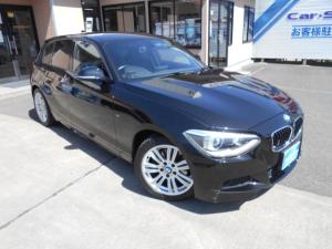 BMW 1シリーズ 120i Mスポーツ コンフォートアクセス 純正HDDナビ・DVD・ミュージックサーバー・Bluetooth バイキセノン 前席パワーシート ミラーETC バックカメラ 純正17インチアルミ
