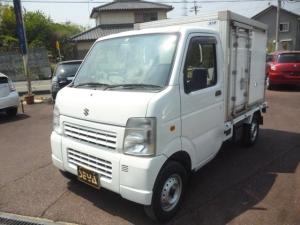 スズキ キャリイトラック 蓄冷式冷蔵冷凍車5度〜10度 温蔵機能 4WD AC AT
