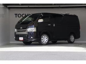 トヨタ ハイエースバン スーパーGL ダークプライム LEDヘッドランプ