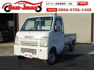 スズキ キャリイトラック KCエアコン・パワステ 4WD 5速マニュアル車