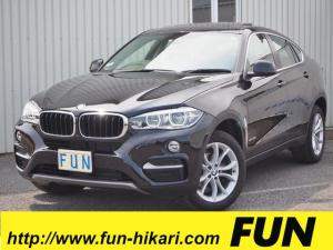 BMW X6 xDrive 35i 低走行4000キロ OP★サンルーフ OP★コンフォートパッケージ アダプティブクルーズコントロール 360カメラ Pバックドア LEDヘッドランプ 黒革シート