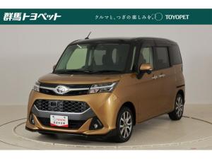 トヨタ タンク カスタムG-T SDナビ バックカメラ LEDヘッドライト 両側電動スライドドア ETC スマートアシスト ドライブレコーダー