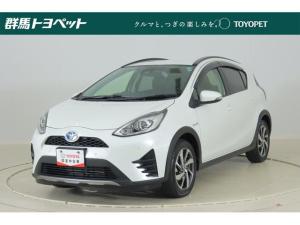 トヨタ アクア クロスオーバー SDナビ バックカメラ セーフティーセンス ETC シートヒーター