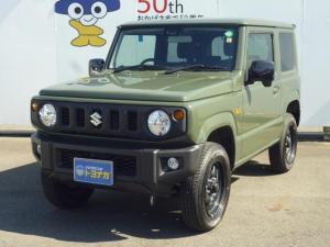 スズキ ジムニー XL 4AT 4WD ジャングルグリーン シートヒーター キーフリー 新品ナビTV付き
