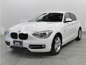 BMW 1シリーズ 116i スポーツ ナビパッケージ 認定中古車