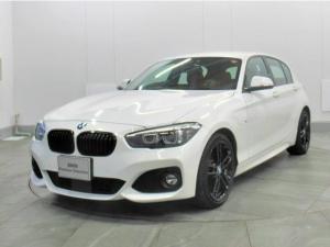 BMW 1シリーズ 118i Mスポーツ エディションシャドー 認定中古車 車検整備付 茶色本革