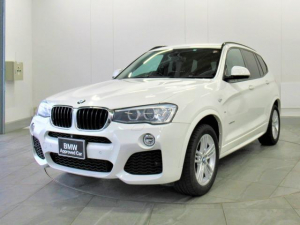 BMW X3 xDrive 20d Mスポーツ 認定中古車 車検整備付