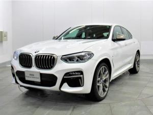BMW X4 M40i 認定中古車 ワイヤレスチャージ 21インチ