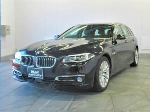 BMW 5シリーズ 523iツーリング ラグジュアリー 認定中古車 黒革 ACC