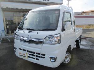 ダイハツ ハイゼットトラック ジャンボSAIIIt 4WD 5速MT ドアバイザー付き