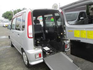 ダイハツ ムーヴ CL 福祉車両 車椅子スローパー 助手席回転シート