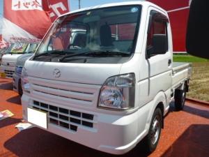 マツダ スクラムトラック KCエアコン・パワステ 4WD 5速マニュアル