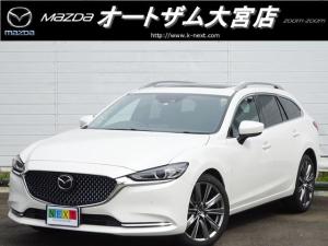 マツダ MAZDA6ワゴン XD Lパッケージ 展示車 サンルーフ BOSE 本革シート