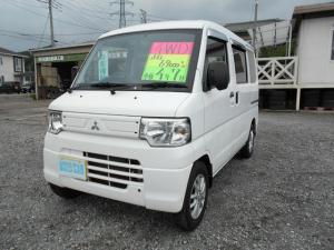 三菱 ミニキャブバン CD 4WD AT エアコンパワステ 社外アルミ