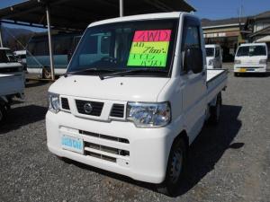 日産 NT100クリッパートラック DX 4WD 5MT エアコンパワステ ワンオーナー
