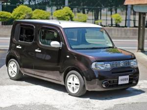 日産 キューブ 15X 2トーン特別塗装色 純正地デジナビ グー鑑定車