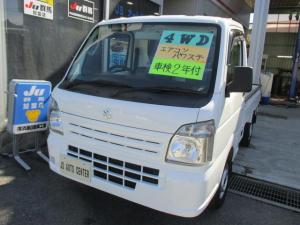 スズキ キャリイトラック KCエアコン・パワステ農繁仕様 4WD 高低二段切替式 5速マニュアル デフロック エアコン パワステ D席エアバッグ