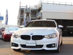 BMW 4シリーズ 420iクーペ Mスポーツ 右ハンドル ディーラー車