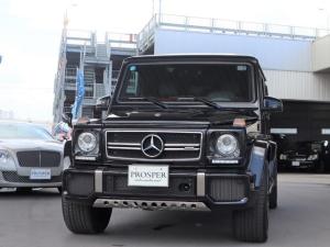 メルセデスAMG Gクラス G63 デジーノエクスクルーシブインテリアPKG 左H D車