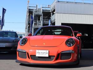 ポルシェ 911 911GT3RS クラブスポーツPKG スポーツクロノPKG レザーインテリアPKG カーボンインテリアPKG 左ハンドル ディーラー車