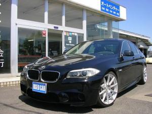 BMW 5シリーズ 528i 黒革 SR 左ハンドル サンルーフ ETC TV