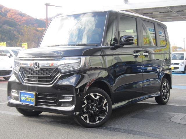 N-BOXが入庫!しかも雪道でも安心の4WDです! 北海道の一部と東日本から兵庫県の県外登録費は+¥10,800でOK!