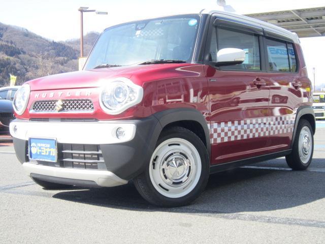 ハスラーが入庫!しかも雪道でも安心の4WDです! 北海道の一部と東日本から兵庫県の県外登録費は+¥10,800でOK!