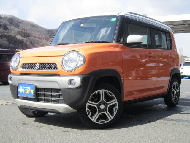 人気のハスラーが入庫!しかも雪道も安心の4WDです! 北海道の一部と東日本から兵庫県の県外登録費は+\10,800でOK!