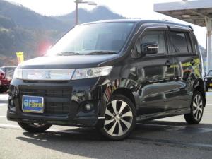 スズキ ワゴンRスティングレー Tターボ 4WD CDステレオ キーフリー シートヒーター HIDライト フォグランプ オートライト オートエアコン パドルシフト 純正15インチアルミ 盗難警報装置 ワンオーナー