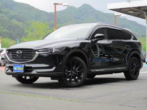 マツダ CX-8 XD ブラックトーンエディション 4WD 衝突軽減ブレーキ 10型フルセグナビ 360°モニター レーダークルーズコントロール パワーシート シートヒーター LEDライト オートライト ETC パワーバックドア オートエアコン スマートキー TVキッド