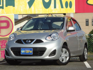 日産 マーチ 12X 2WD CVT インテリキー プッシュスタート アイドリングストップ CDステレオ 電動格納ドアミラー リヤワイパー ワンオーナー