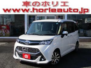 トヨタ タンク カスタムG-T 9インチナビ 両側電動ドア セーフティセンス
