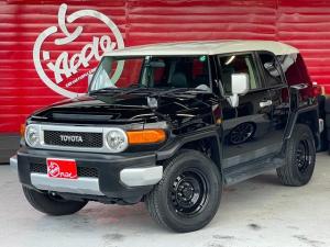 トヨタ FJクルーザー カラーパッケージ 4WD 純正ナビ バックモニター クリアランスソナー A-TRACスイッチ