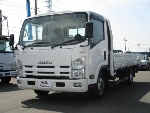 いすゞ エルフトラック 3.0D平ボディワイドロングFFロー 2トン積載 荷台塗装済