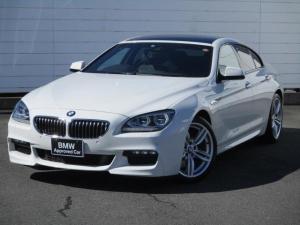 BMW 6シリーズ 640iグランクーペ 禁煙車 ワンオーナー 純正ナビ ETC バックカメラ ブラックレザーシート シートヒーター Musicコレクション Bluetooth パドルシフト クルーズコントロール 純正19インチアロイホイール
