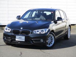 BMW 1シリーズ 118i ワンオーナー 禁煙車 純正ナビ ETC バックカメラ クルーズコントロール Bluetooth Musicコレクション LEDヘッドライト インテリジェントセーフティ16インチAW LEDヘッドライト