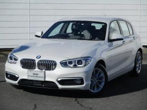 BMW 1シリーズ 118d スタイル 禁煙車 純正ナビ バックカメラ アクティブクルーズコントロール シートヒーター コンフォートアクセス LEDヘッドライト Blue tooth