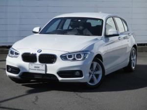 BMW 1シリーズ 118d スポーツ 禁煙車 純正ナビ バックカメラ PDC アクティブクルーズコントロール シートヒーター LEDヘッドライト コンフォートアクセス 純正16インチアロイホイール