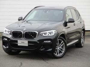 BMW X3 xDrive 20d Mスポーツ ワンオーナー 禁煙車 レザーシート フロントリアヒーター ヘッドアップディスプレイ アクティブクルーズコントロール バックカメラ アンビエントライト Bluetooth LEDヘッドライト 純正19